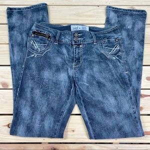 Lucy in The Sky Unique Distressed Jeans